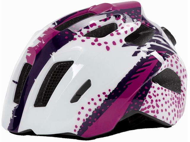 Cube Fink Helmet white'n'violette